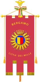 Gonfalone del Comune di Bergamo