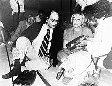 1979, Festival internazionale dei poeti a Castelporziano: Allen Ginsberg e Fernanda Pivano