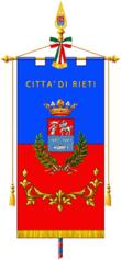 Gonfalone della Città di Rieti