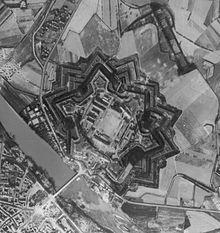 La Cittadella bombardata nel 1944