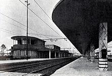 La Stazione di Viareggio progettata da Roberto Narducci nel 1935