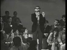 L'esordio televisivo di Battiato, nella trasmissione Diamoci del tu.