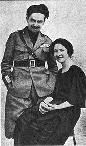 Italo Balbo e la contessina Florio.