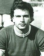 Vito Petruzzelli con la maglia del Matera