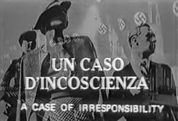 L'INCOSCIENZA ITALIANA.