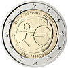 2 euro commemorativo Belgio UEM 2009.jpg