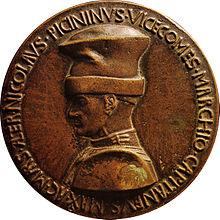 Pisanello, Medaglia di Niccolò Piccinino