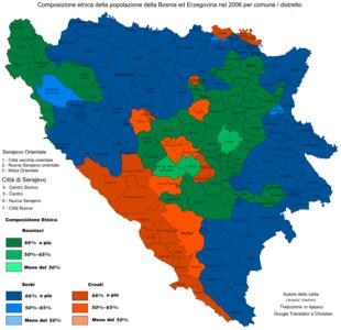 Mappa etnica del 2006