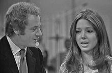 Johnny Dorelli con Sabina Ciuffini nel 1970