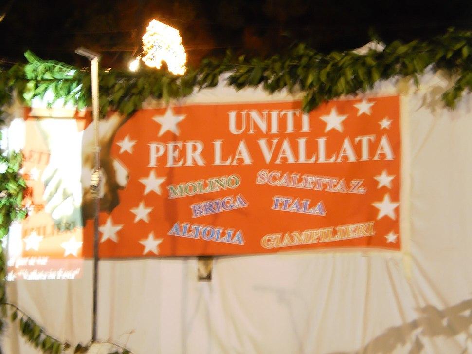 """Locandina dell'evento """"Uniti per la Vallata"""", 29 luglio 2011"""