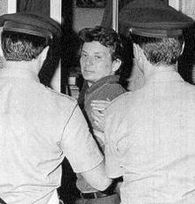 L'arresto di Adriano Sofri nel 1988.