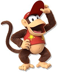 Diddy Kong in Donkey Kong Country: Tropical Freeze