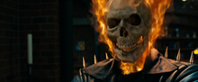 Ghost Rider interpretato da Nicolas Cage nel film Ghost Rider.