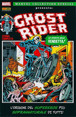 Marvel Spotlight (Vol. 1) n. 5 sulla copertina Marvel Collection Special presenta Ghost Rider, disegnato da Mike Ploog