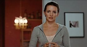 Charlotte in una scena del film Sex and the City.