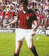 Rosato al Milan nella stagione 1968-1969