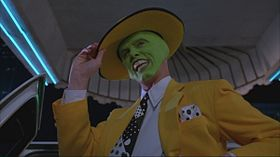 The Mask, interpretato da Jim Carrey, nel film The Mask - Da zero a mito