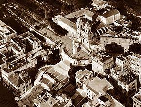 Trinità dei Monti foto aerea del 1938