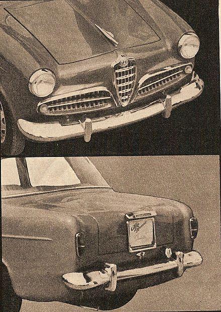 Alfa Romeo Giulietta 1955 Wikiwand