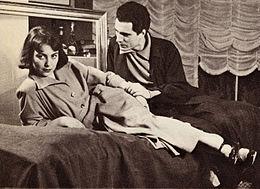 Fulvia Mammi e Nino Manfredi in teatro 1947