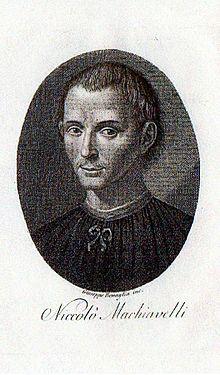 Niccolò Machiavelli (stampa primi Ottocento)