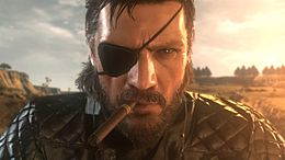 Big Boss in Metal Gear Solid V: The Phantom Pain realizzato con FoxEngine.