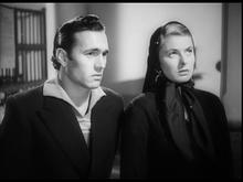 Mario Vitale con Ingrid Bergman nel film Stromboli terra di Dio