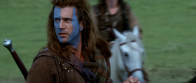 Mel Gibson interpreta William Wallace