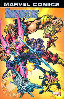 Thunderbolts, disegnato da Mark Bagley