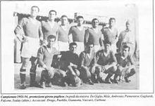 Formazione Barletta 1953-1954