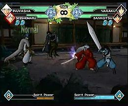 inuyasha feudal combat wikipedia