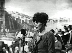 Ornella Vanoni al Festival di Napoli 1964