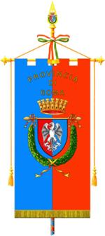 Gonfalone della Provincia di Roma