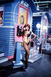 Carmen Russo negli anni ottanta al Drive In