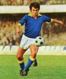 Luppi in azione al Verona nel 1972