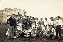 Biscegliese - Modenese, anno 1929.