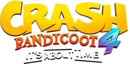 Crash Bandicoot 4 It's About Time logo.png