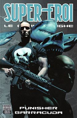 Punisher disegnato da Tim Bradstreet