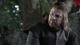 Eddard interpretato da Sean Bean