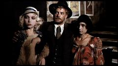 Con Giancarlo Giannini e Lina Polito in Film d'amore e d'anarchia.