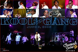 I Kool & the Gang in concerto