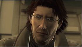 Otacon in Metal Gear Solid 4: Guns of the Patriots