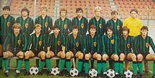 Il Pordenone 1984-1985.