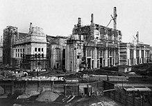 La Stazione di Milano Centrale in costruzione negli anni venti del XX secolo