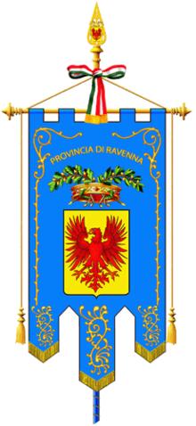 Gonfalone della provincia.
