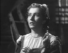 Valentina Cortese nel film La cena delle beffe di Alessandro Blasetti (1942)
