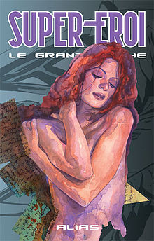 Jessica Jones, dipinti di David Mack