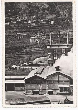 Anni '50 - I Forni elettrici della SEFE.
