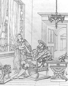 Francesco I con la sorella Margherita.