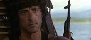 John Rambo nel secondo film